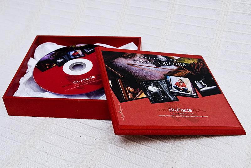 Porta cd dvd com fotografias marias arteiras